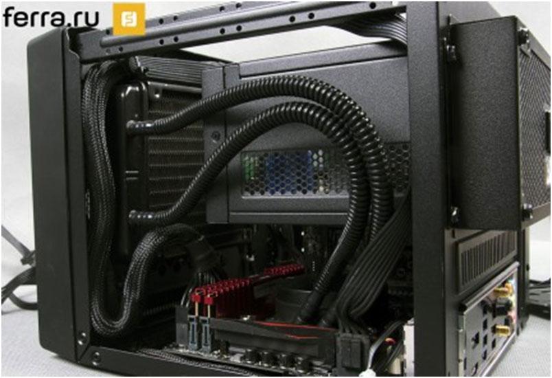 Финальная сборка игрового компьютера в корпусе Cooler Master Elite 110